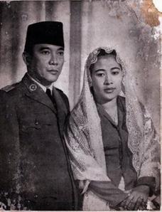 Bung Karno dan Fatmawati