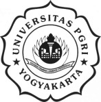 Logo Universitas PGRI Yogyakarta (UPY)- hitam putih