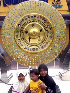 Taman Pintar - Gong Perdamaian