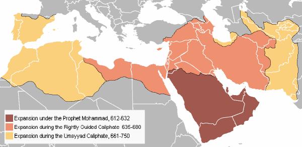 Ekspansi Islam Hingga Kekhalifaan Umar Bin Khattab