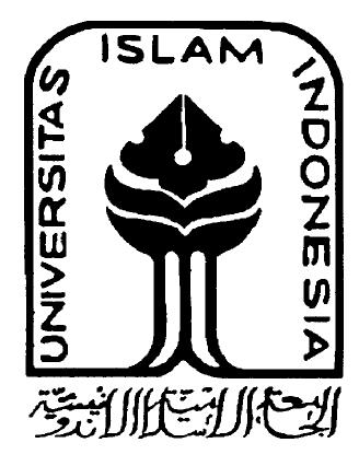 Logo UII Hitam Putih