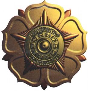 Logo UGM 3D Gold