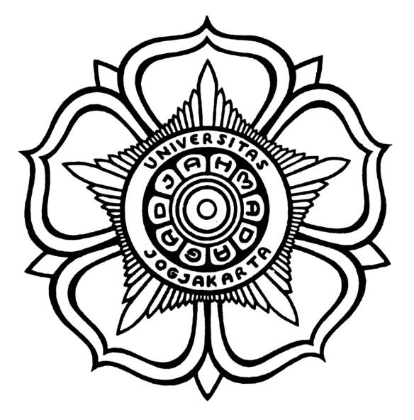 Logo UGM Hitam Putih