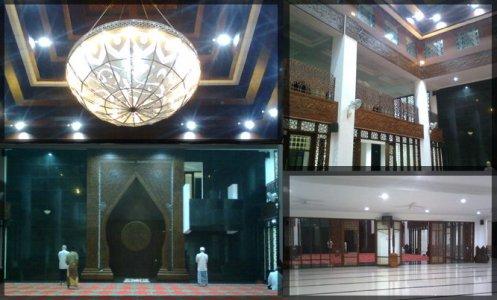 Interior Masjid Al Muttaqun