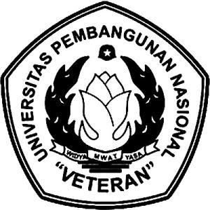 logo UPN hitam putih