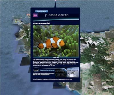 Fitur Ocean Google Earth