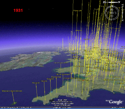 Fitur World War II Google Earth