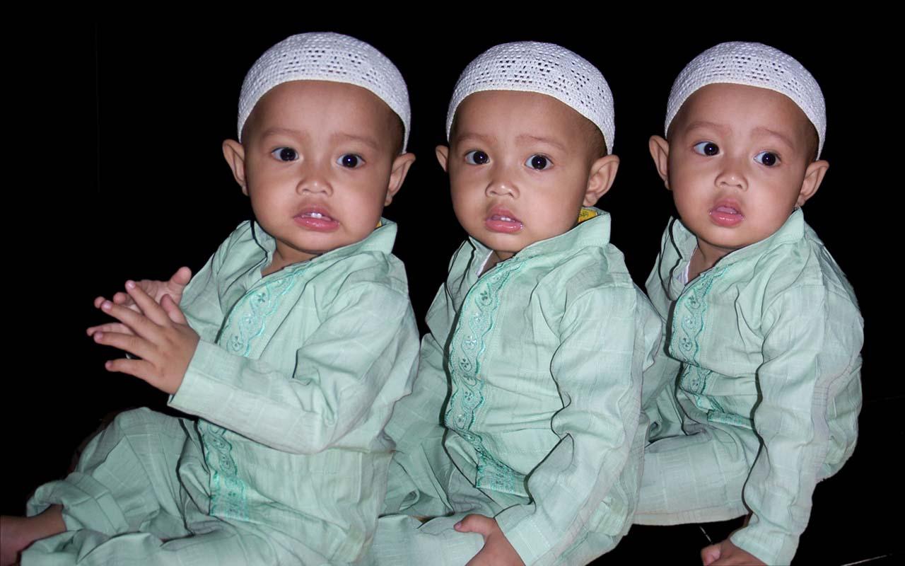 Foto Fatih Kembar Tiga Fairuz El Said