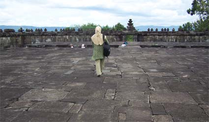Dalam Pendopo Istana Ratu Boko