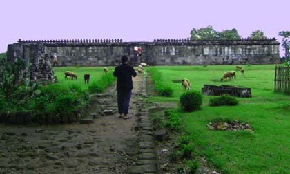 Pendopo Istana Ratu Boko (Tampak Luar)