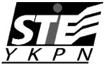 logo stie ykpn hitam putih