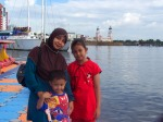 Pantai Losari - Bunda, Thia & Fatih