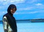 Pantai Tanjung Bira: Ehm.....bunda narisis juga..