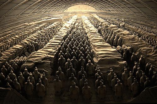 Makam Qin Shi Huang