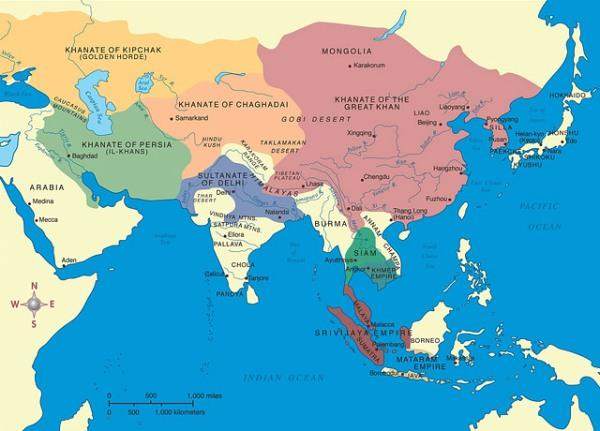 Wilayah Kekuasaan Jenghis Khan