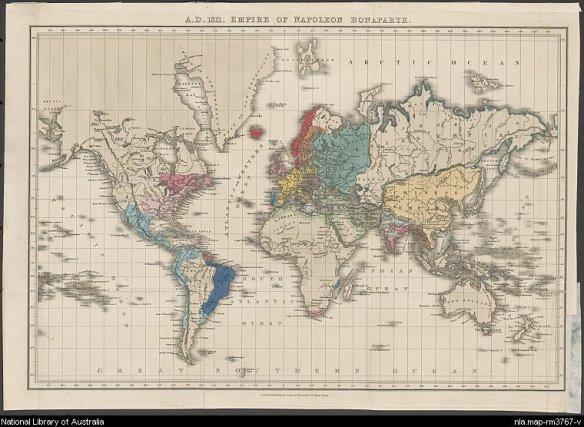 Wilayah Kekuasaan Napoleon Bonaparte