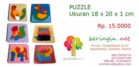 Puzzle 18 X 20 X 1 cm