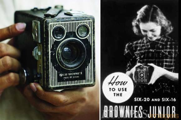 Kamera Brownies
