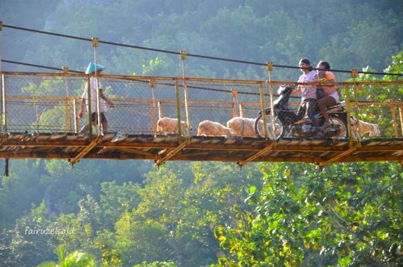 Elemen Garis Horizontal Pada Jembatan